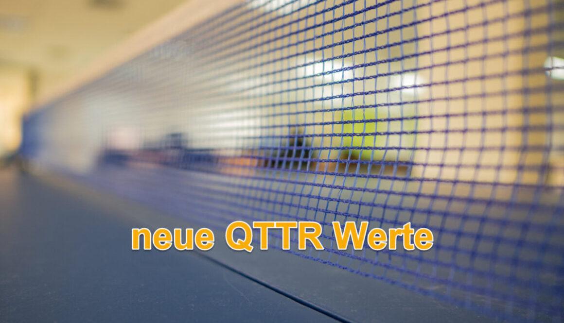 Neue QTTR Werte